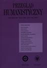 Przegląd humanistyczny 2019/2/465 Kwartalnik Rok LXIII