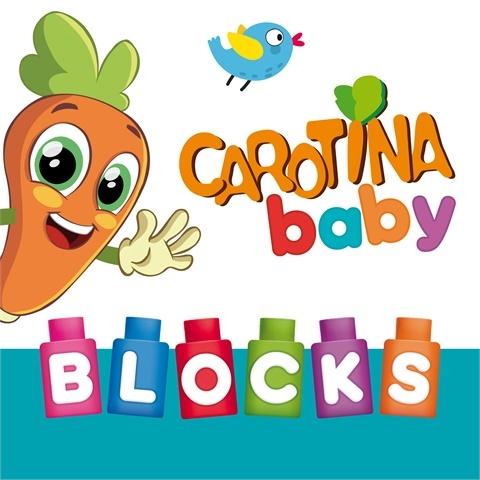Carotina Baby: Klocki w plecaczku - 24 sztuki (79902)