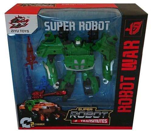MC Robot 2w1 /zielony