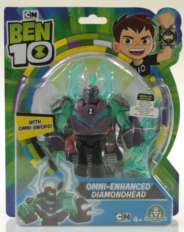 Ben 10: Figurka podstawowa 13 cm seria 7 - Omniwzmocniony Diamentogłowy (BEN39610)