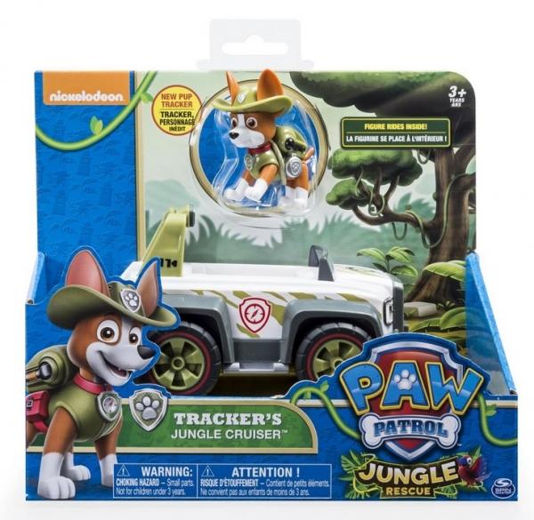 Psi Patrol pojazdy z figurkami, Tracker (6022627)
