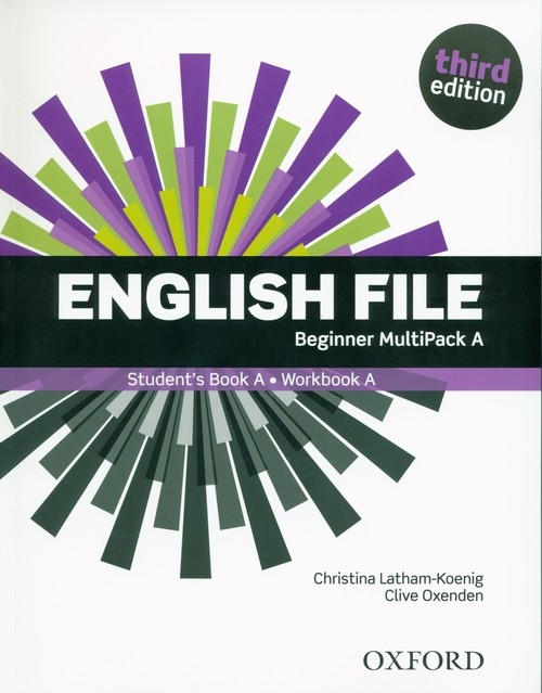 English File 3E Beginner Multipack A Latham-Koenig Christina, Oxenden Clive