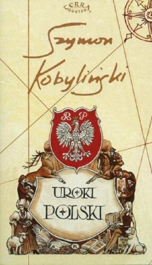Uroki Polski Mapa malowana Kobyliński Szymon