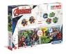 Clementoni, Puzzle SuperKit 2w1: Avengers + Memo + Domino (20209)