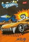 Brulion A6 Hot Wheels w kratkę 96 kartek