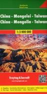 Chiny Mongolia Tajwan 1:3 000 000