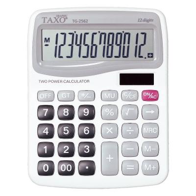 Kalkulator na biurko TG-2562 biały Taxo Graphic 12-pozycyjny