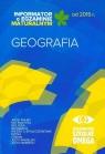 Informator o egzaminie maturalnym od 2015 roku Geografia