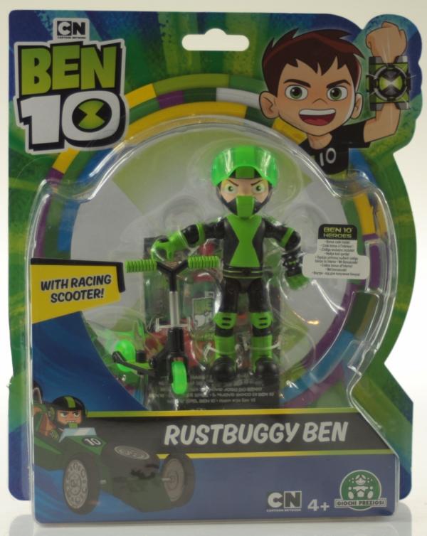 Ben 10: Figurka podstawowa 13 cm seria 8 - Rustbuggy Ben (BEN43100)