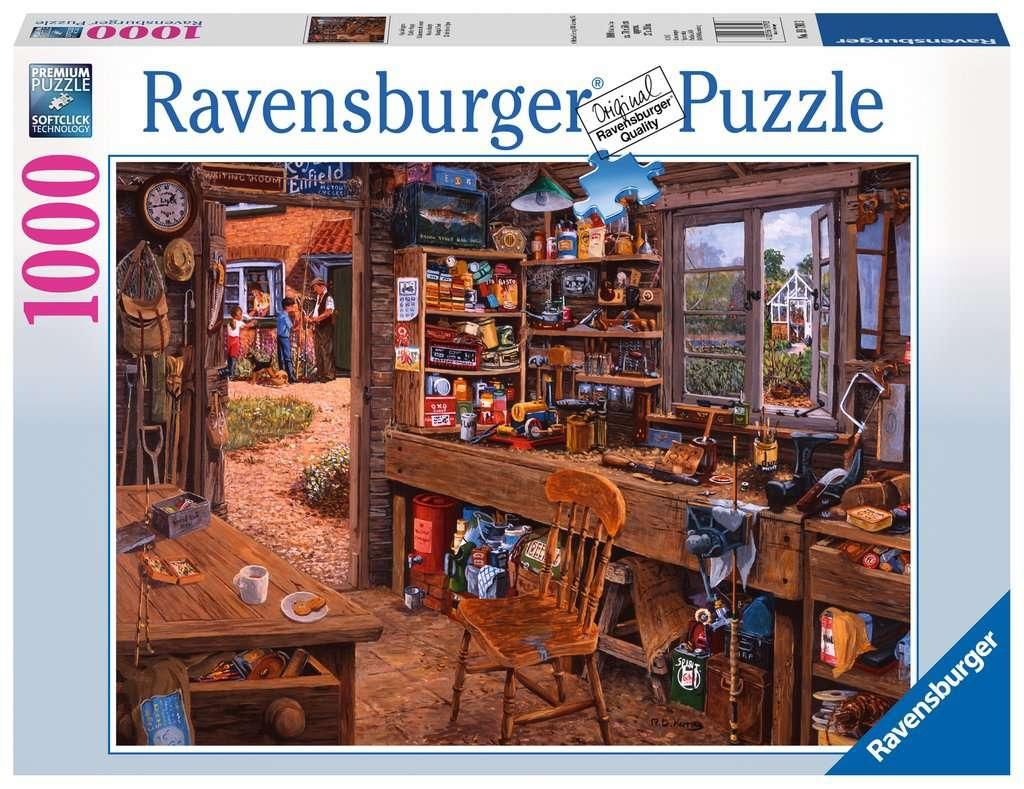 Puzzle 1000: Szopa dziadka (19790)