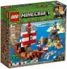 LEGO Minecraft: Przygoda na statku pirackim (21152)