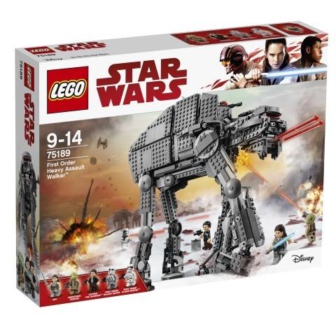 Lego Star Wars: Ciężka maszyna krocząca Najwyższego Porządku (75189)