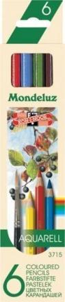 Kredki Mondeluz 6 kolorów