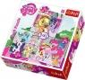 Puzzle 3w1 My Little Pony Zabawy kucyków (34190)