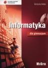 Informatyka dla gimnazjum Podręcznik + CD