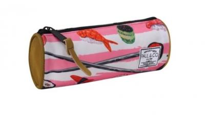 Piórnik Sushi różowy