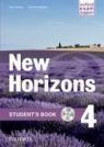 Horizons NEW 4 SB + WB OXFORD Paul Radley, Daniela Simons, Colin Campbell