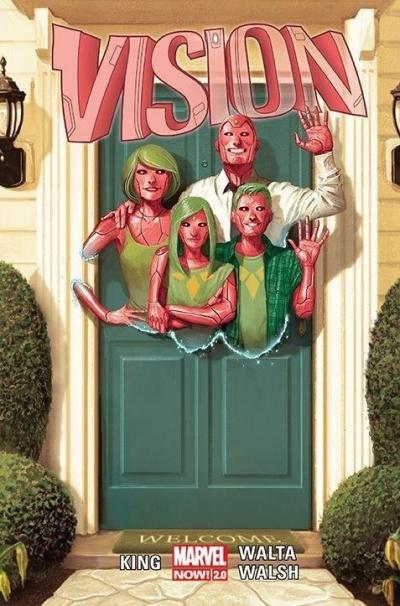 Vision Tom King, Gabriel Hernandez Walta, Michael Walsh