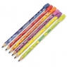 Pachnące ołówki HB z gumką Scentos 6 sztuk