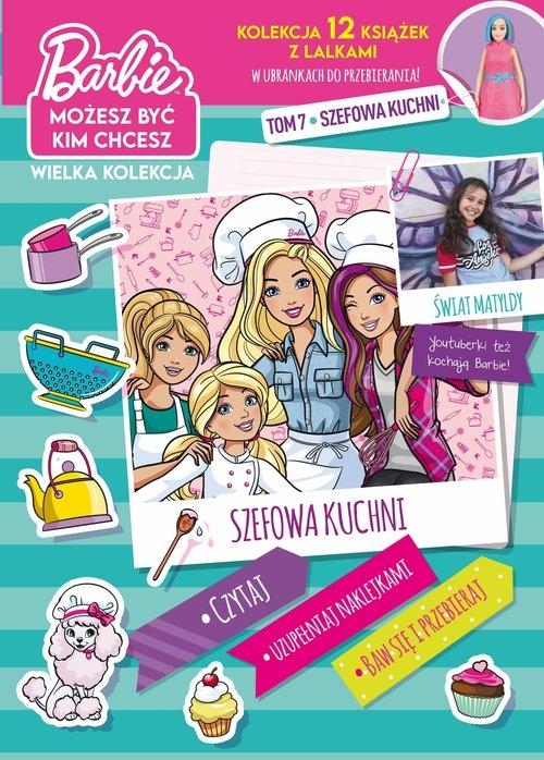 Barbie Możesz być kim chcesz Część 7 Szefowa kuchni