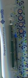Długopis automatyczny Zenith 7 + wkład oprawa zielona