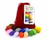 Kredki Crayon Rocks w aksamitnym woreczku 16 kolorów