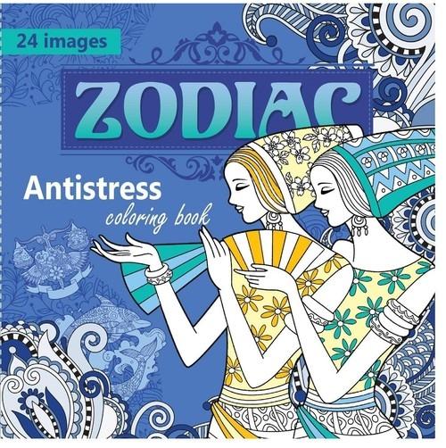 Kolorowanka antystresowa Zodiac
