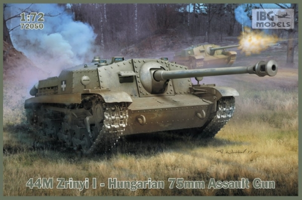 44M Zrinyi I - Hungarian 75mm Assault Gun (72050)