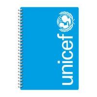 Niebieski Notes Unicef