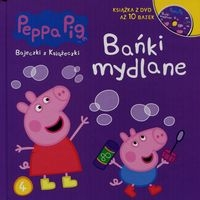 Świnka Peppa Bajeczki z książeczki 4 Bańki mydlane + DVD