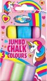 Kreda kolorowa Jumbo Unicorn - 3 szt (80390)