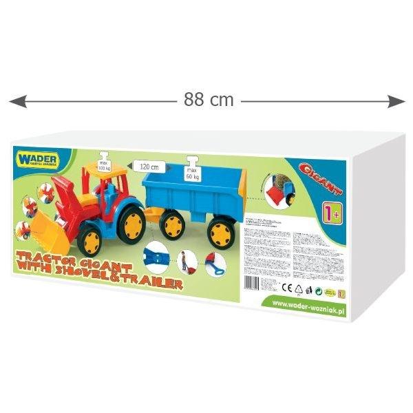 Gigant Traktor - Ładowarka z Przyczepą (66300)