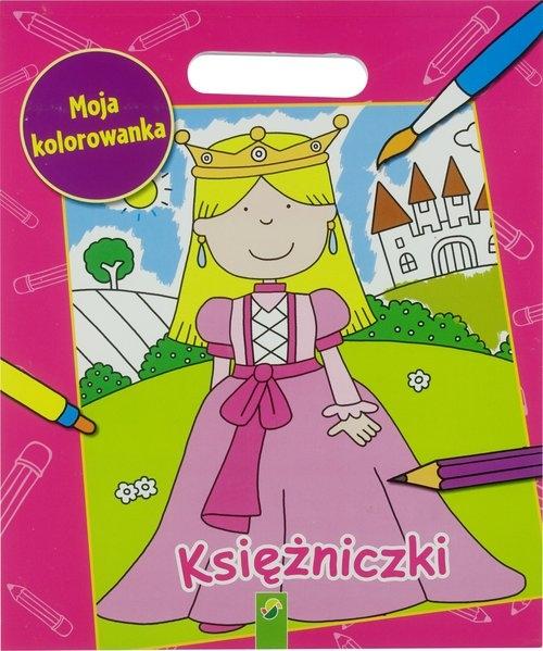 Kolorowanka XXL. Księżniczki