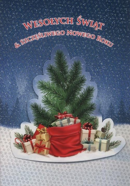 Karnet Boże Narodzenie 3D B6 3D-BNB 172305