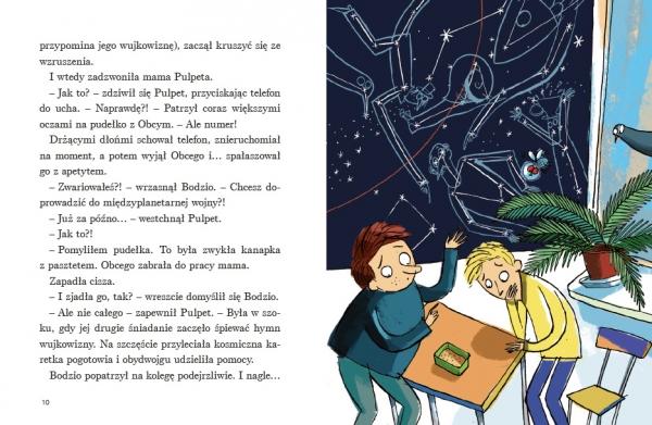 Ale kosmos! To znowu Bodzio i Pulpet Kasdepke Grzegorz