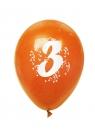 Balony pastelowe numer 3 (mix) (K7905)