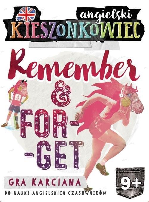 Kieszonkowiec angielski Remember Forget (9+) Kondrat Dorota