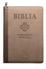 Biblia pierwszego Kościoła z paginatorami, zamykana na suwak