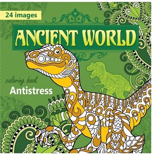 Kolorowanka antystresowa Ancient World
