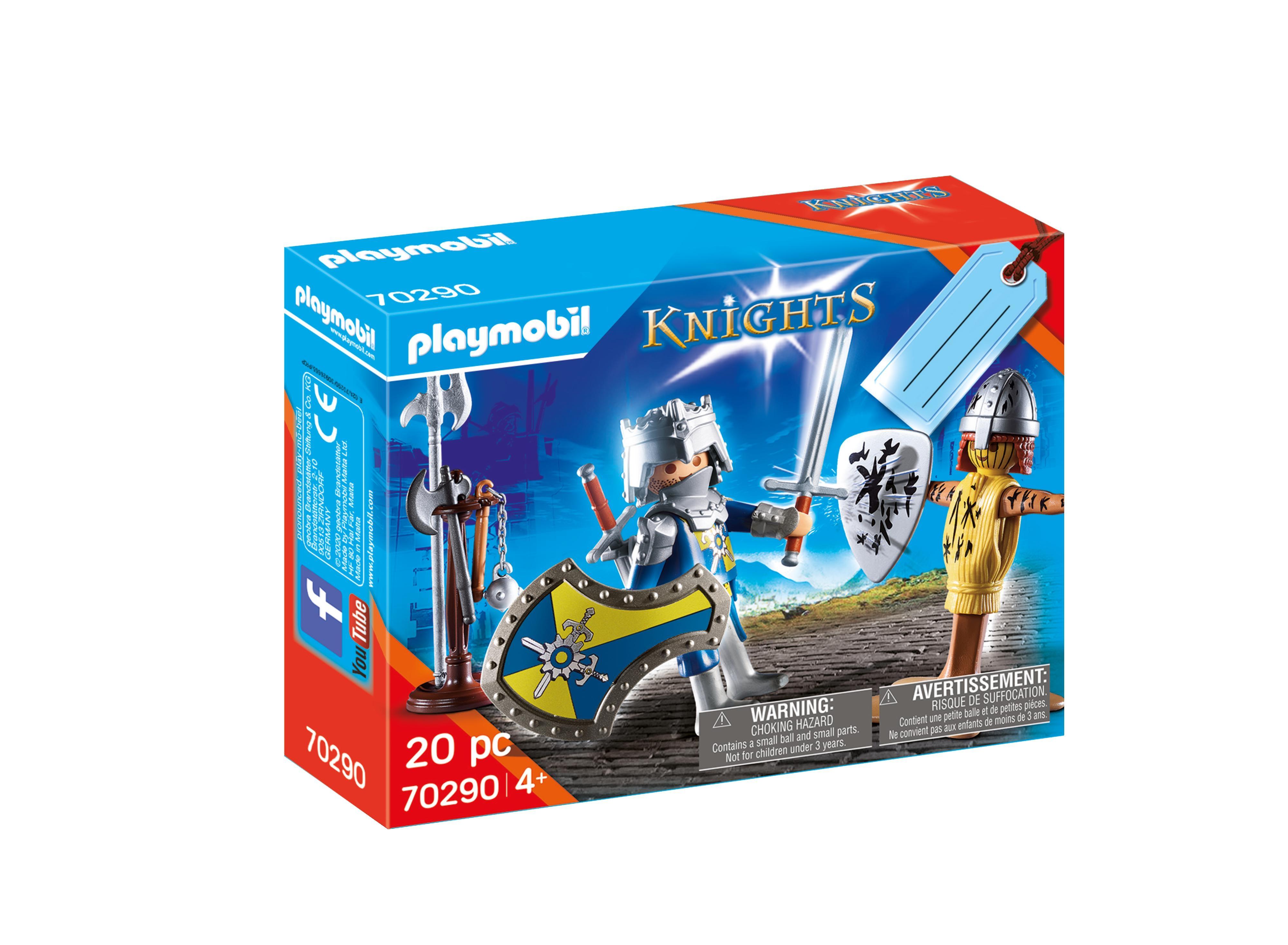 Playmobil Knights: Zestaw upominkowy - Rycerz (70290)