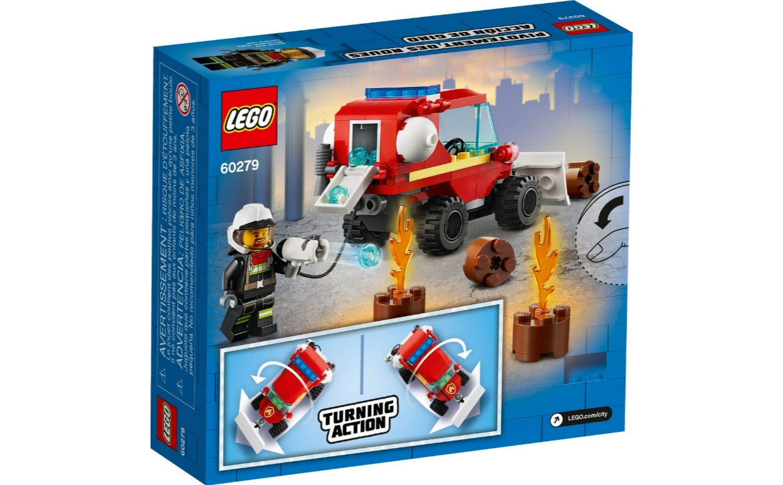 Lego City: Mały wóz strażacki (60279)