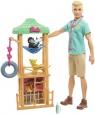 Barbie: Lalka Ken - weterynarz dzikich zwierząt (GJM32/GJM33)
