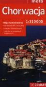 Chorwacja mapa samochodowa 1:310 000