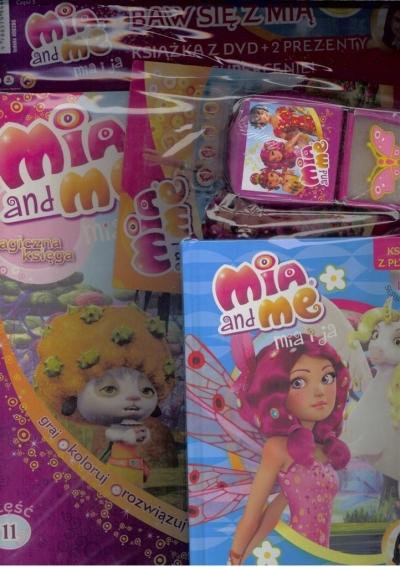 Mia and Me zestaw - baw się z Mią nr 5 praca zbiorowa