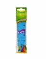 Linijka Flexi Cricco, 15 cm (CR625) mix kolorów