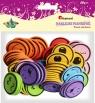 Naklejki piankowe: buźki, mix rozmiarów i kolorów(EB657)