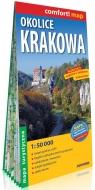 Okolice Krakowa laminowana mapa turystyczna 1:50 000