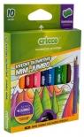 Kredki trójkątne mini Jumbo 10 kolorów (CR328K10)