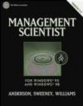 Management Scientist CD-ROM Dennis Sweeney, David Ray Anderson, Thomas Arthur Williams