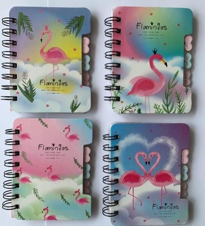Notes na spirali Flamingo 120x92mm 50k. 81990